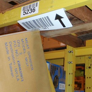 "2"" by 10"" long flexible label mount - Angled mount under or face - Choice of angle - (pkg of 25)"