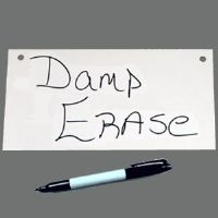 "4""h X 8""w Pre-Drilled Damp Erase Boards"