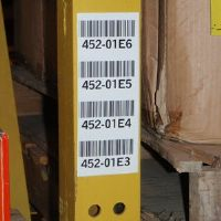 "2-3/4"" by 4"" long multi-level label mount"