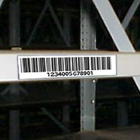 "4"" by 8"" long plastic label mounts - Choice of Backing - White Only - (pkg of 25)"