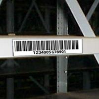 "1 1/4"" x 3"" plastic label mount - Choice of Backing - (pkg of 25)"