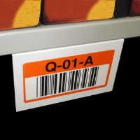 "3"" X 4""  Under Shelf Label Mounts - White - (Pkg of 25)"