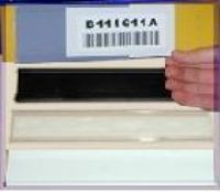"1"" x 4"" plastic c-channel (pkg of 25)"