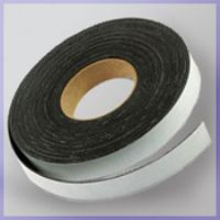 "1"" x 100' Flexible Magnetic Stripping Tape Roll with Adhesive Backing with 3"" Perforations"